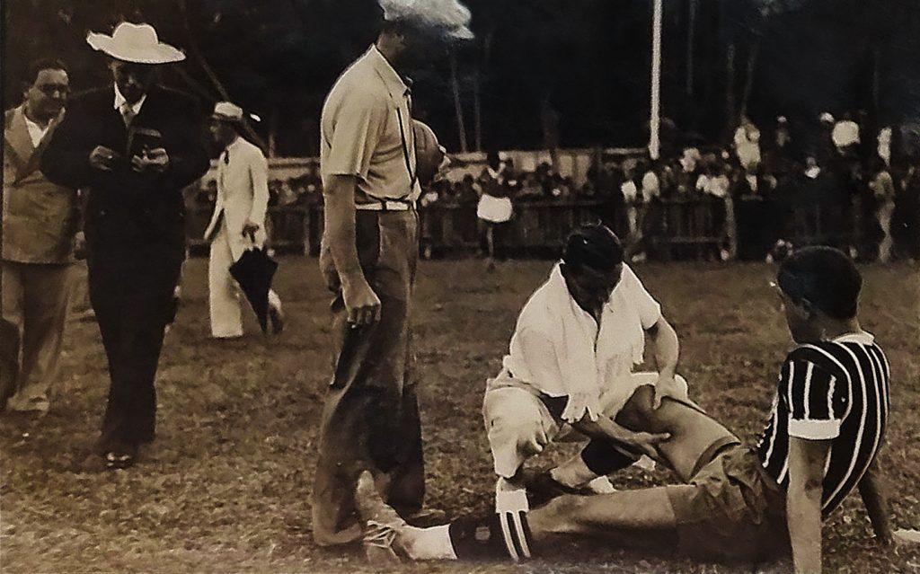 Imagem de treinamento da seleção brasileira para a Copa do Mundo de 1938 | © Coleção Diários Associados - Rio de Janeiro / Acervo Instituto Moreira Salles