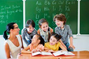 Educação bilíngue para crianças