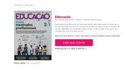Revista Educação está disponível na plataforma GoRead