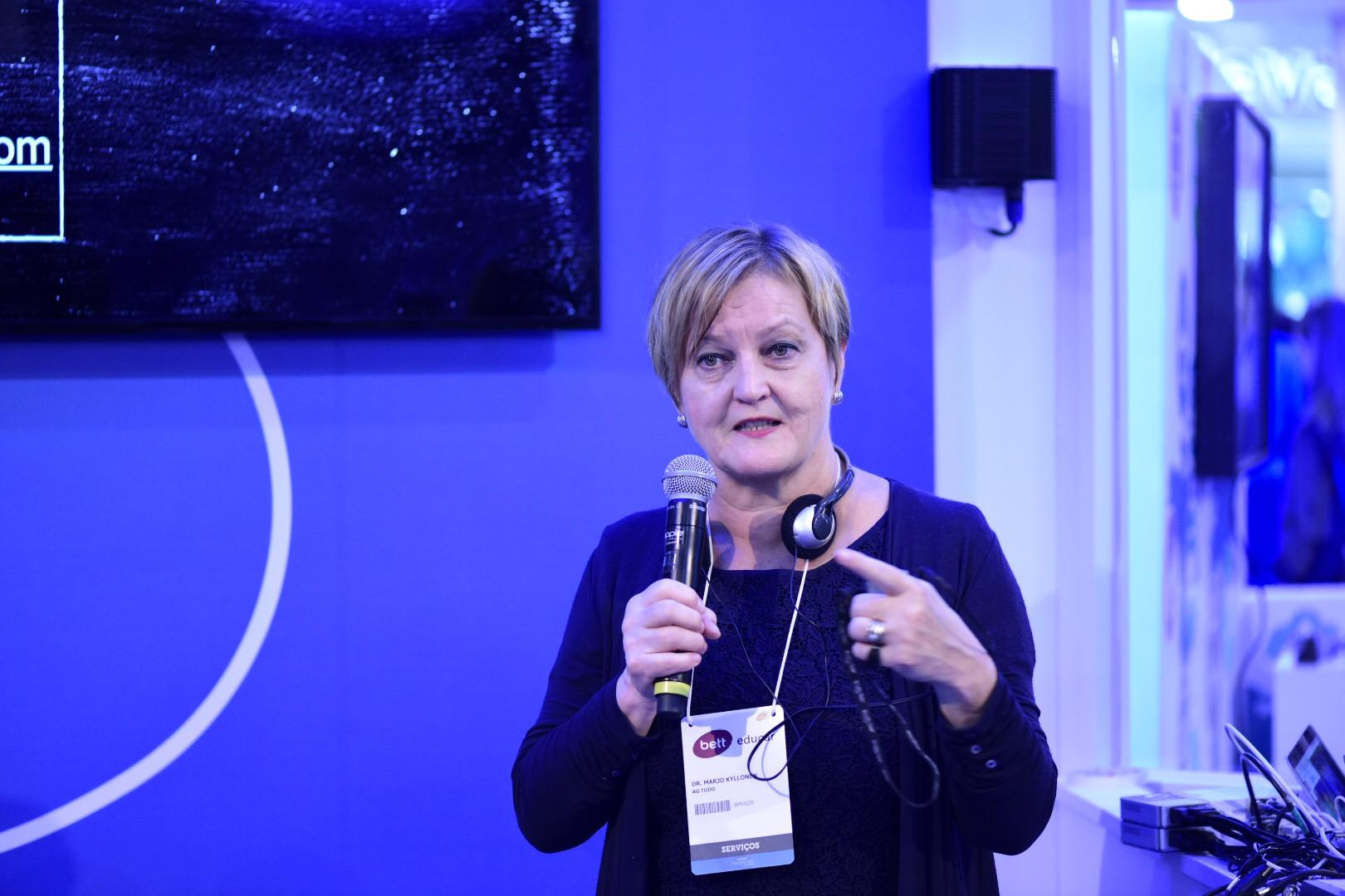 Secretária de Helsinque fala do novo ciclo da educação da Finlândia