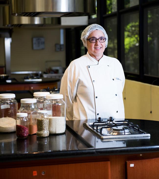 Rosana Toledo, coordenadora do curso on-line de gastronomia: alunos filmarão a execução dos pratos para serem avaliados