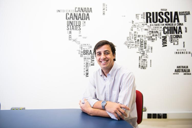 Rodrigo Cintra, da ESPM: necessidade de formar profissionais para uma gerência multicultural