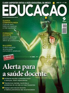 Matéria de capa de Educação em dezembro de 2008: olhar para as principais causas de afastamento dos docentes do trabalho
