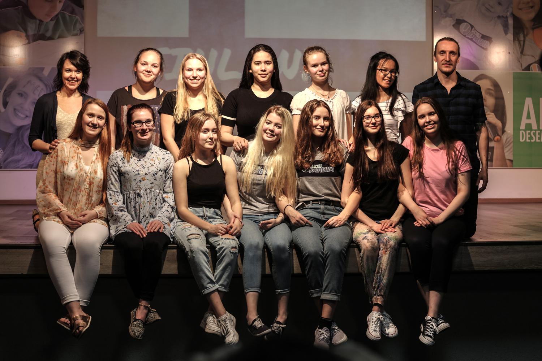 Grupo de estudantes e professores da Finlândia passou 10 dias em intercâmbio no Brasil (Crédito: Divulgação/Colégio Liceu Jardim)