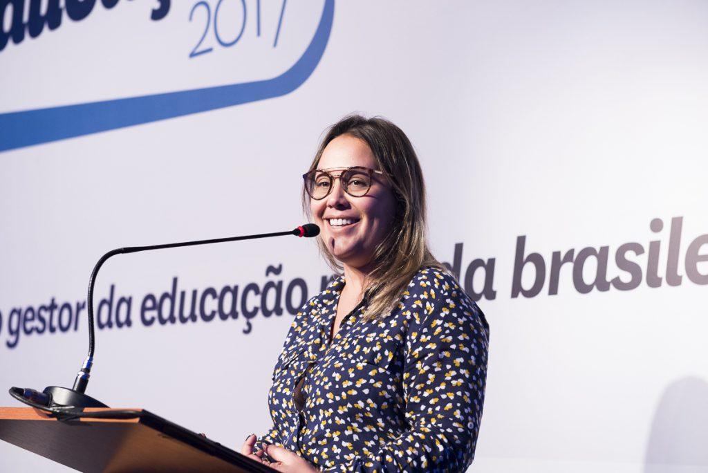 Maíra Habimorad, CEO da Cia de Talentos, fez palestra sobre o que o mercado de trabalho quer da educação. (Foto: Gustavo Morita)