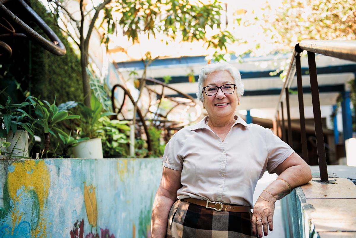 Êda Luiz, coordenadora geral do Cieja Campo Limpo: a favor da liberdade de definir o currículo no âmbito das escolas onde há oferta de EJA (Foto: Gustavo Morita)