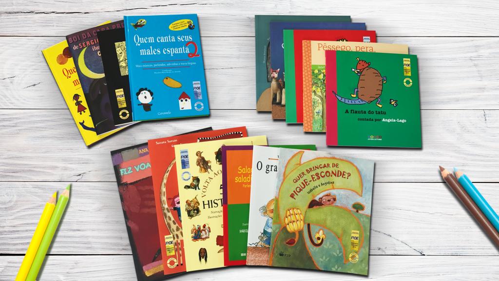 Professores que dão aulas a crianças de quatro a oito anos de idade podem participar de projeto que distribuirá livros infantis. (Crédito: Divulgação)