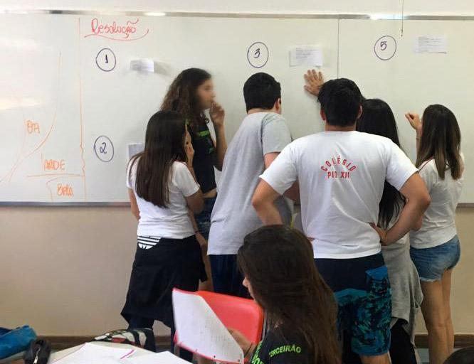 Projeto Ilumina surgiu a partir do diálogo entre professor e coordenador pedagógico (Foto: Divulgação)