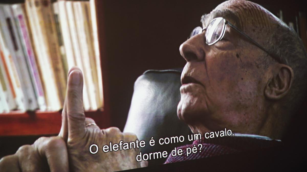 'Saramago - os pontos e a vista' fica em cartaz até junho em São Paulo (Crédito: Renato Suzuki)