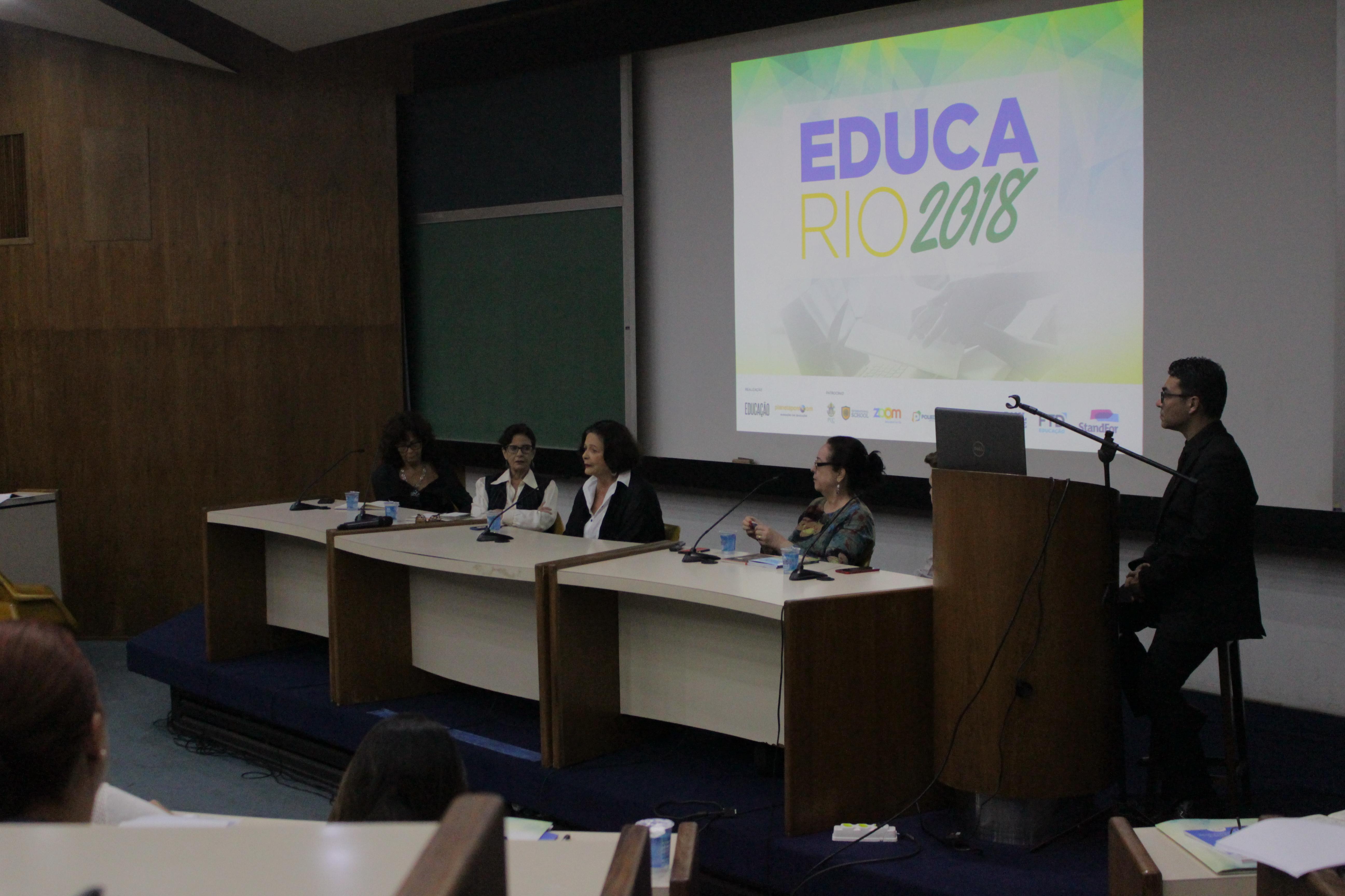 Educa Rio reuniu educadores na PUC (Crédito: Richard Günter/Revista Appai Educar)