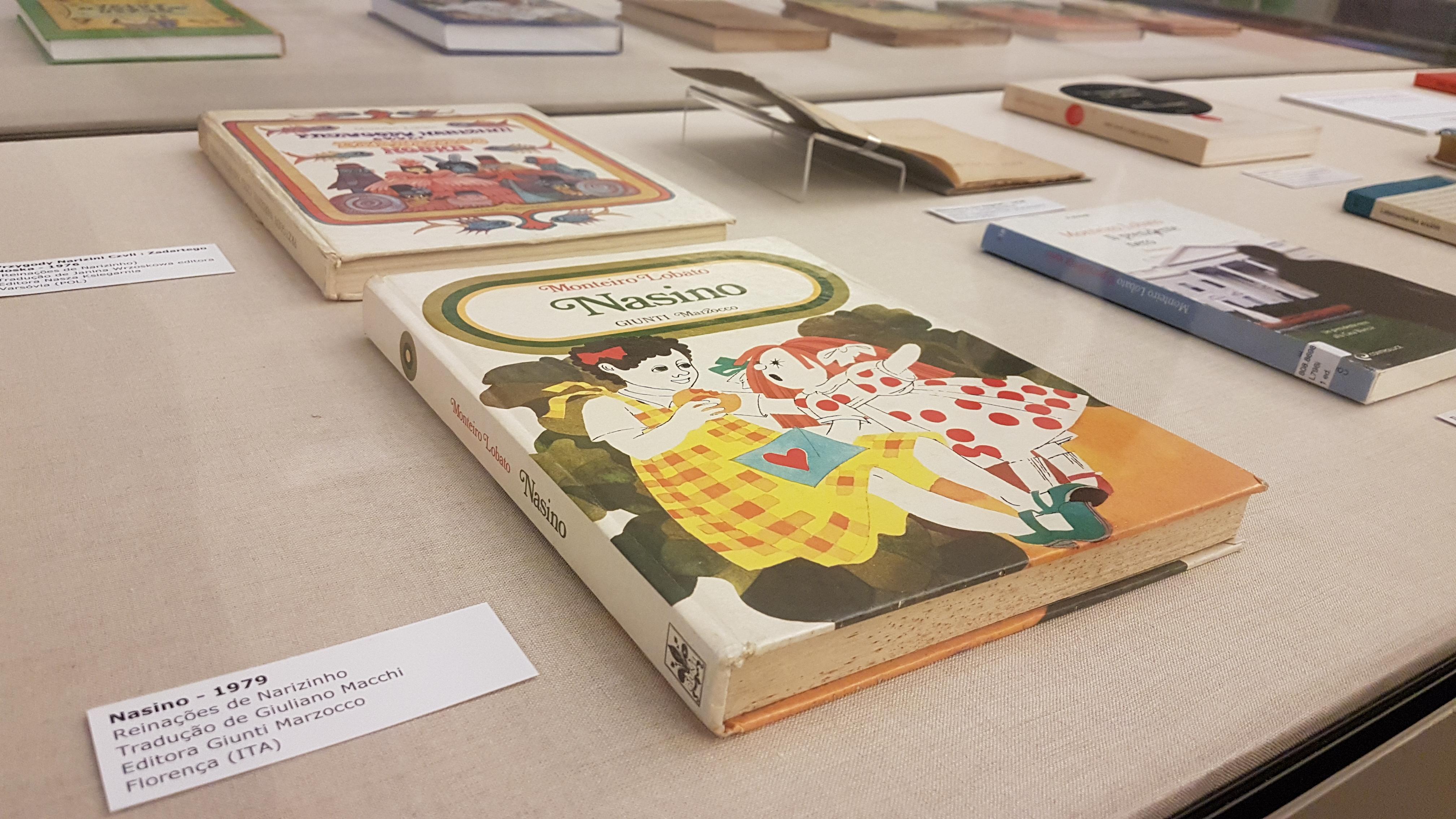 Obras de Lobato traduzidas para outros idiomas podem ser vistas em exposição em São Paulo (Crédito: Elcio Silva)