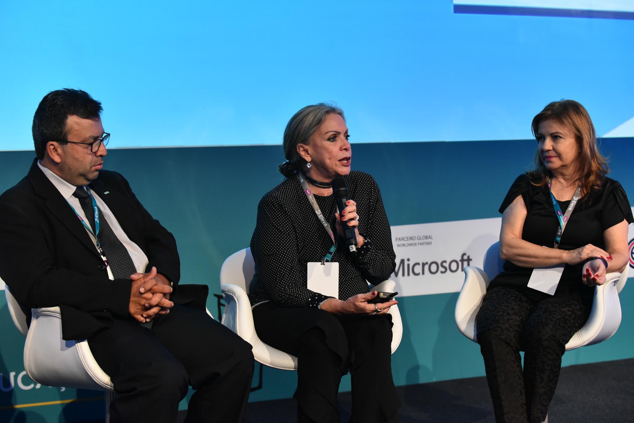 Maria Inês Fini, presidente do Inep, participou da Bett Educar (Crédito: Divulgação/Bett Educar)
