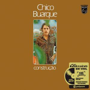 Chico Buarque - Construção - LP Polysom (capa) (Imagem: Reprodução)