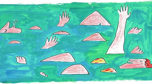 desenho de Millôr Fernandes