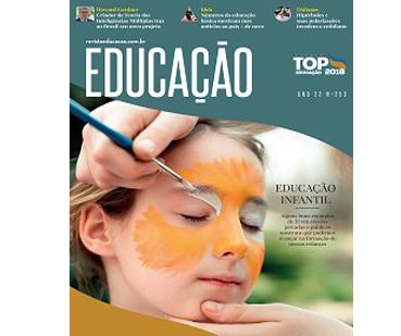 Capa revista Educação