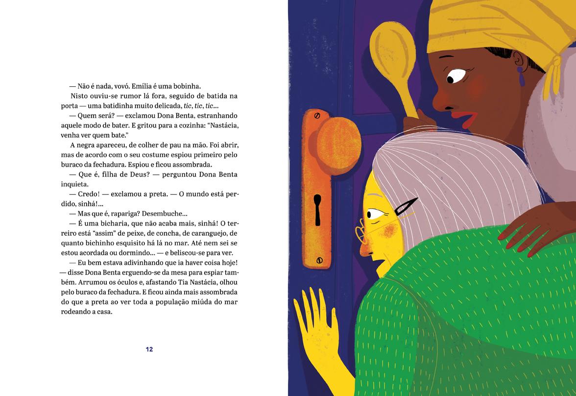 FTD coleções Monteiro Lobato