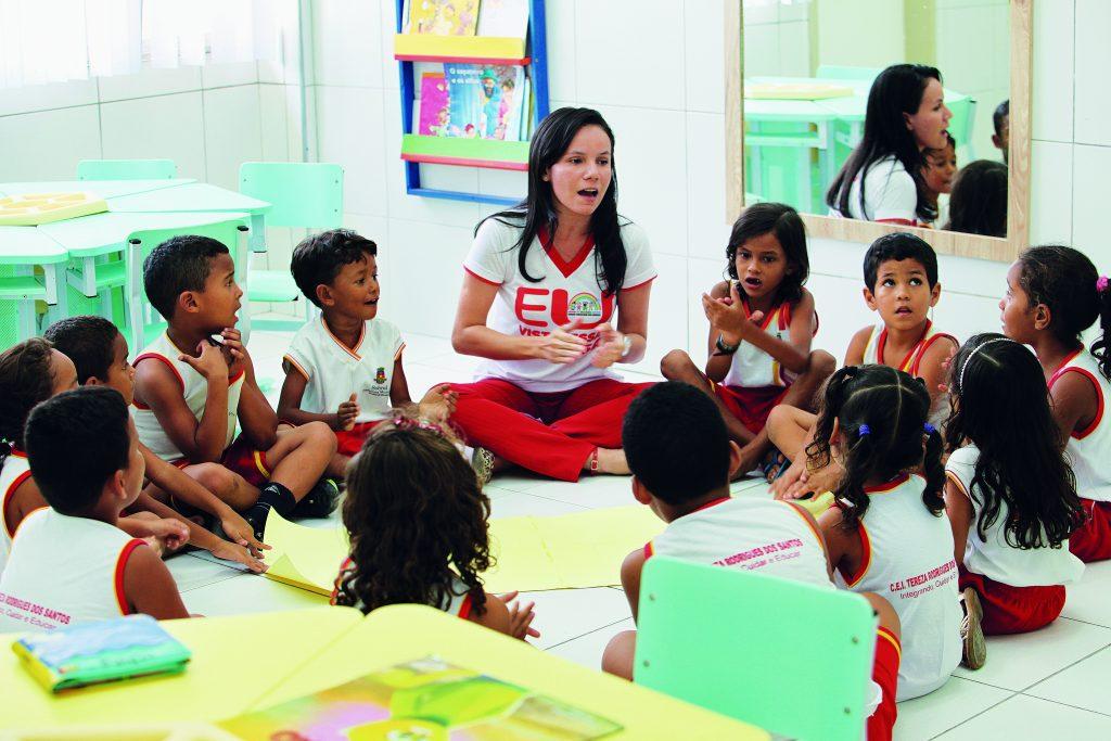 Classe de alfabetização no município de Sobral, no Ceará | © Divulgação