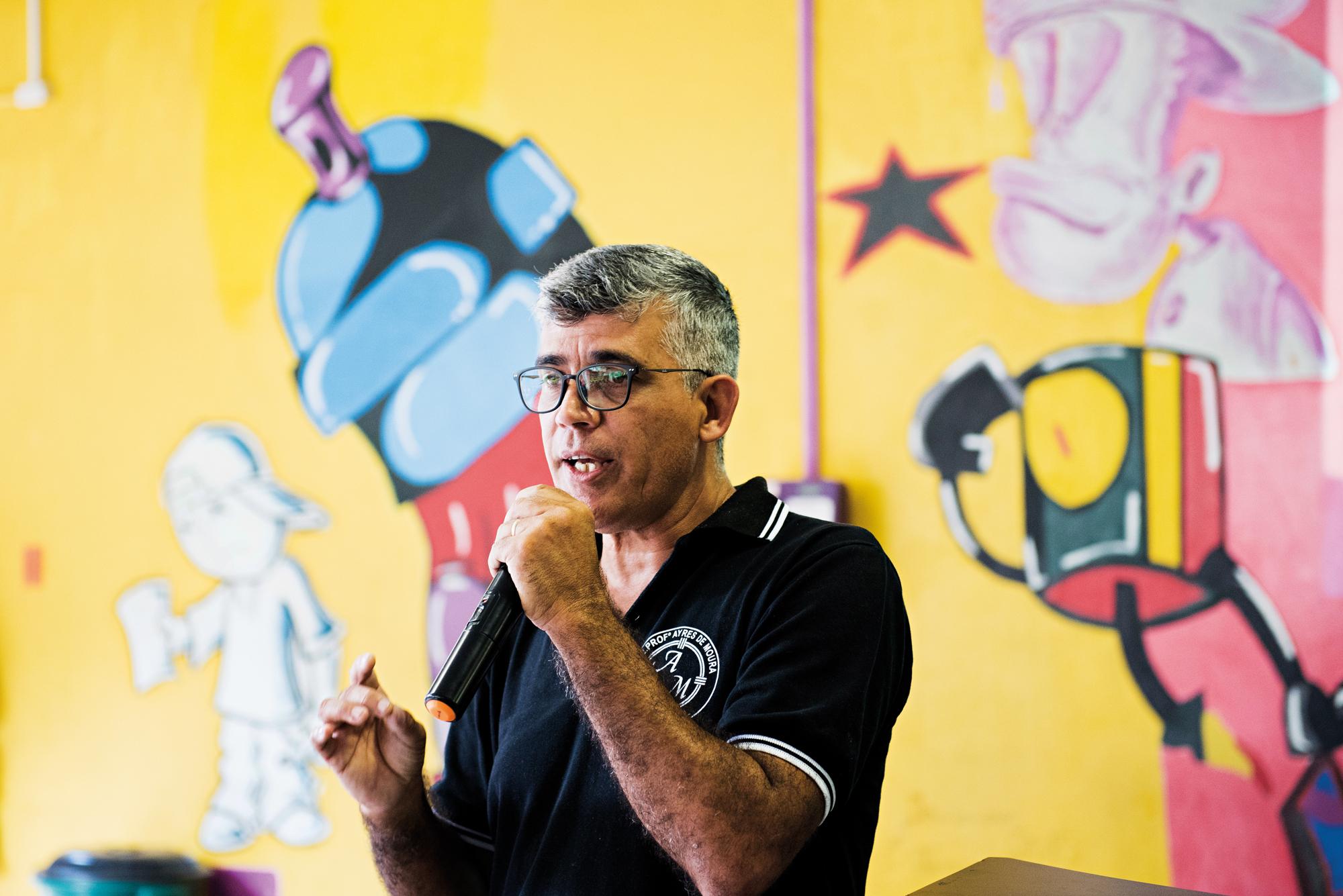 O diretor Daniel Quaresma, que fez mestrado profissional voltado à gestão na PUC/SP | Foto: Gustavo Morita