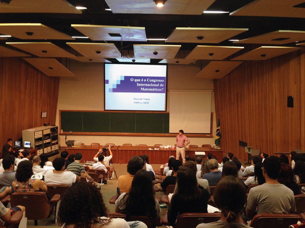Evento de divulgação do Biênio da Matemática: oportunidade para melhorar a imagem da disciplina | Foto: Divulgação